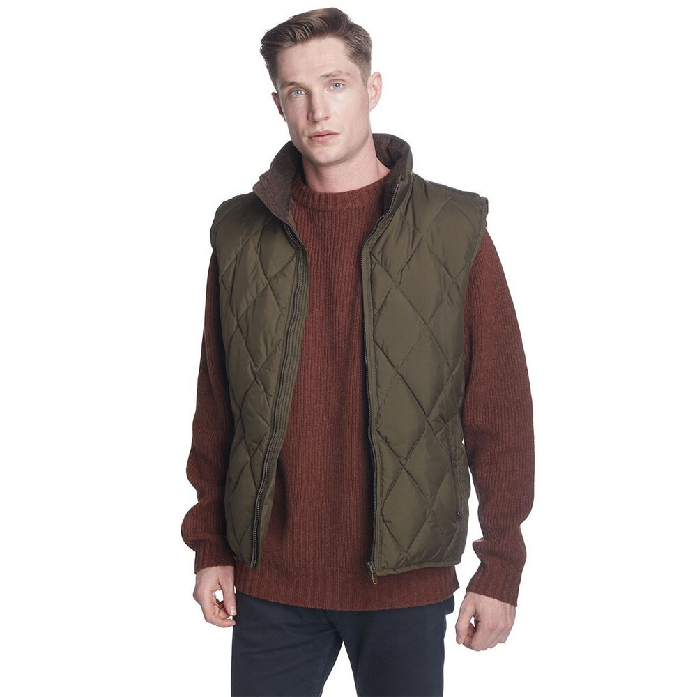 Dubarry Mulranny Quilted Gilet - Olive Olive