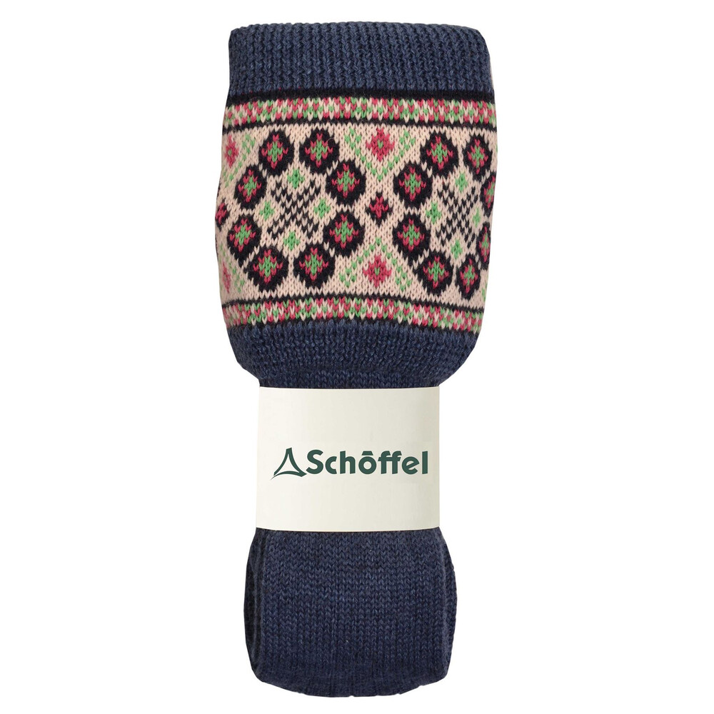 Schoffel Schoffel Foxton Fairisle Sock - Denim