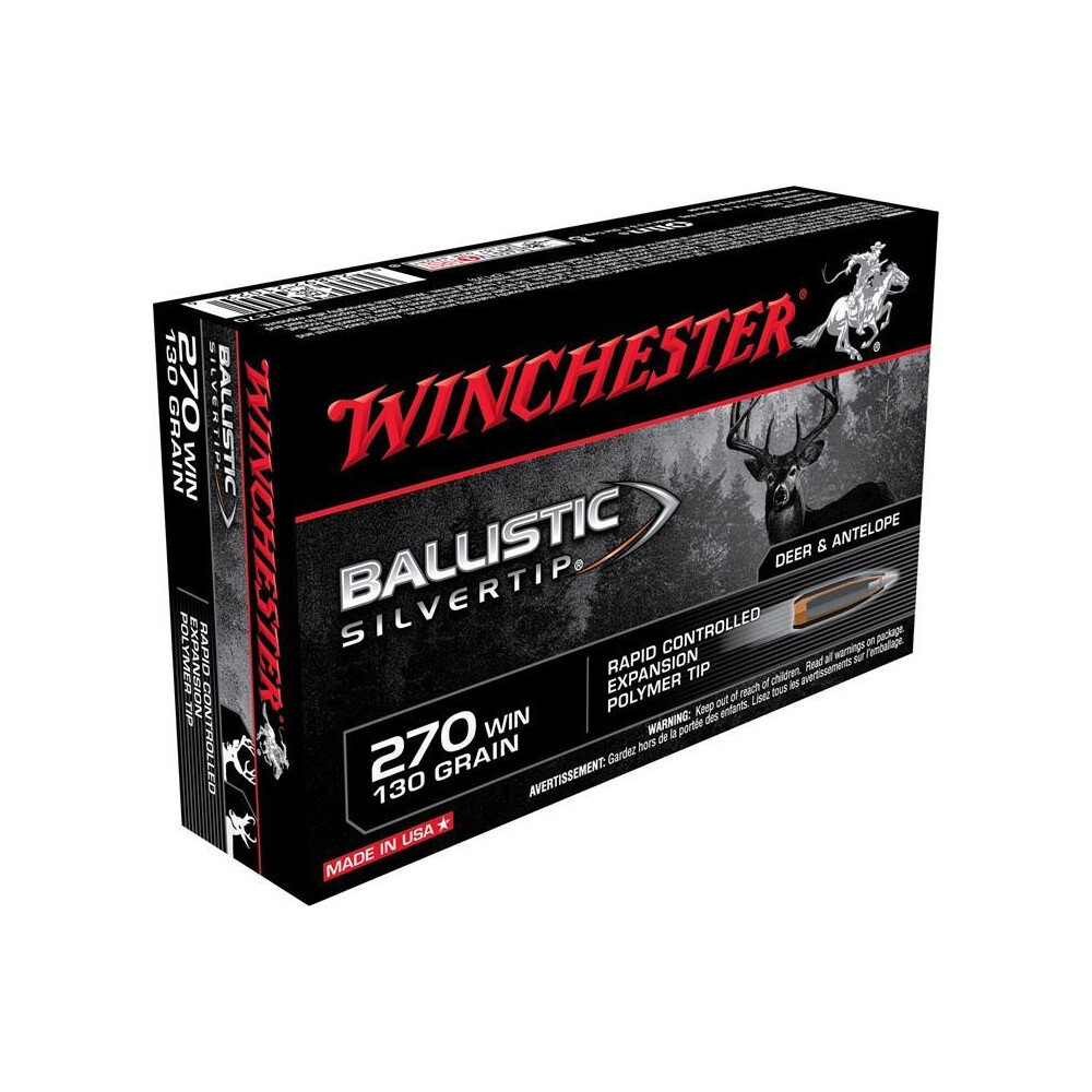 Winchester .270 Ammunition - 130gr - BST Unknown