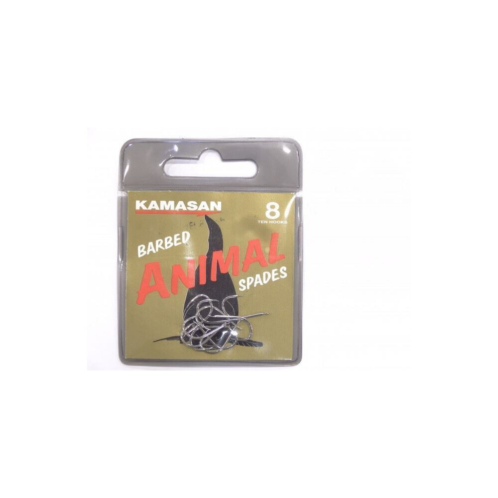 Kamasan Animal Hooks - Spade - Barbed