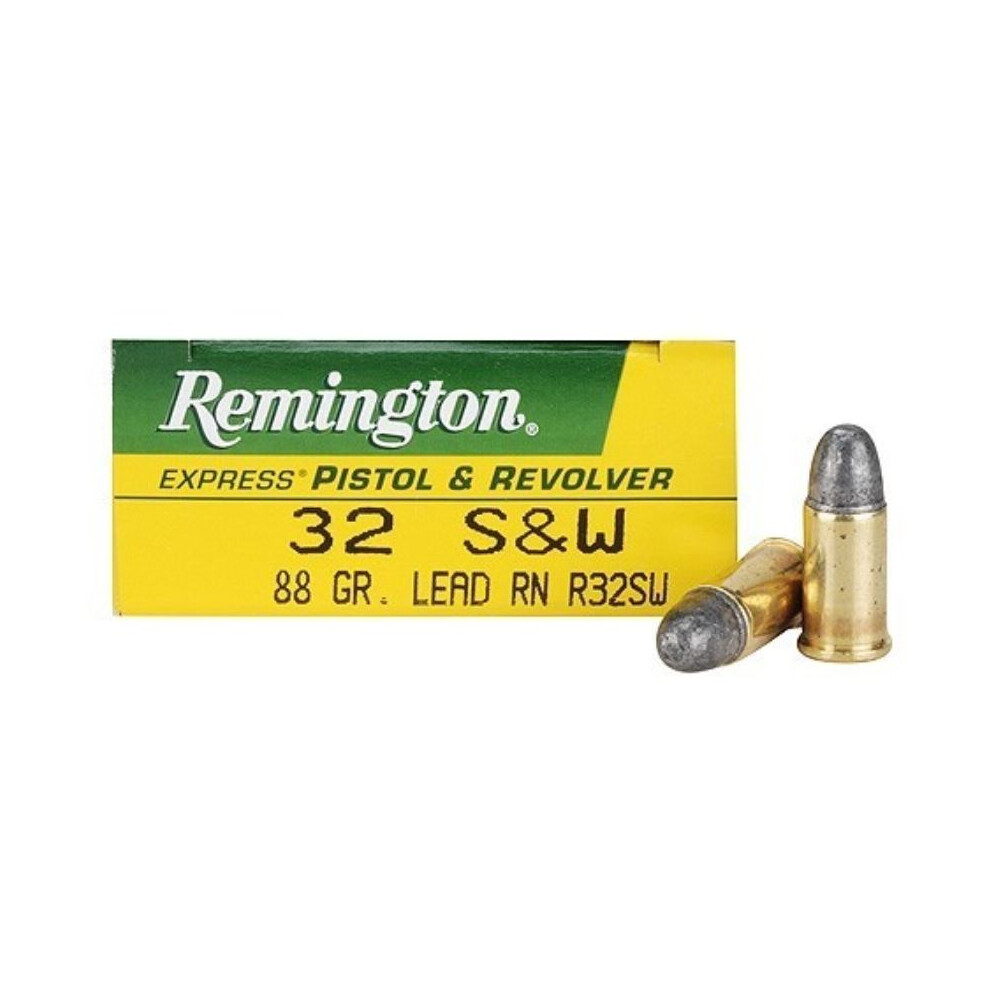 Remington S&W Ammunition - 88gr - Lead Round Nose