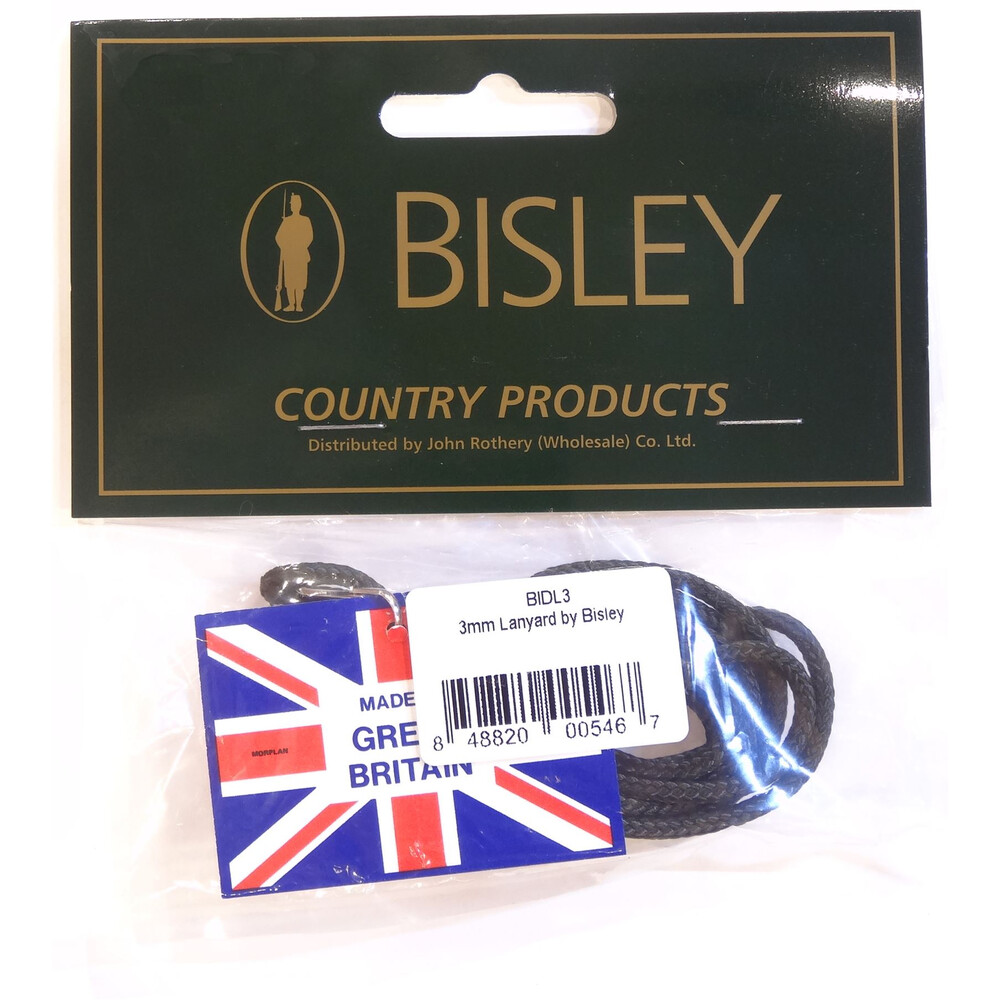 Bisley Traditional Lanyard - 3mm
