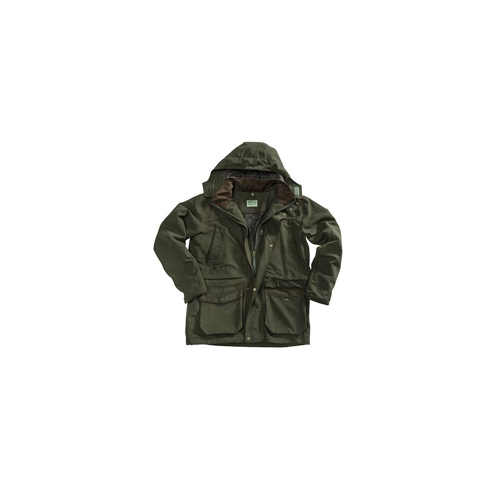 HOGGS OF FIFE Hoggs of Fife Kincraig Waterproof Field Jacket - Olive Green