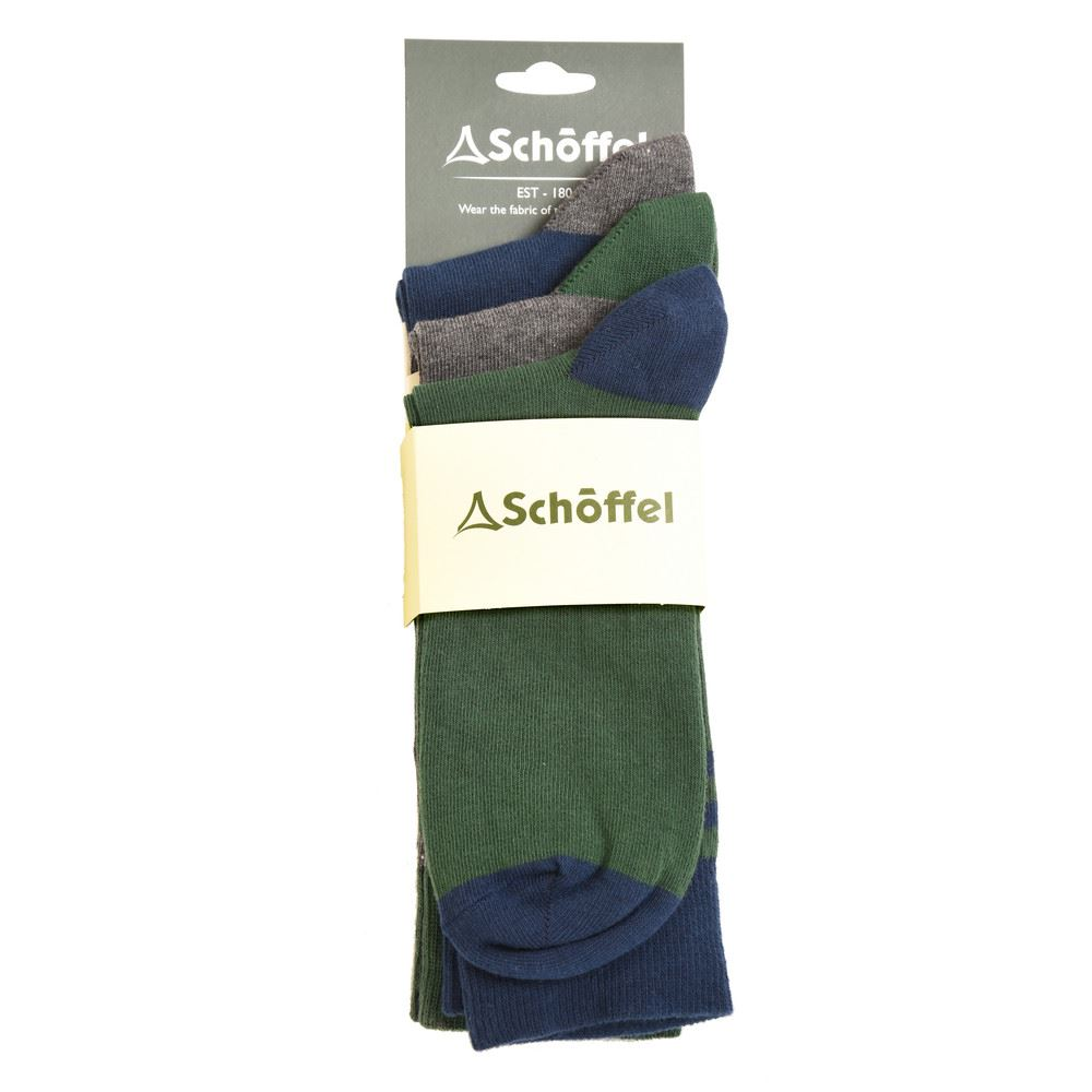 Schoffel Schoffel Rock Sock - UK 7-11 (Pack of 3)