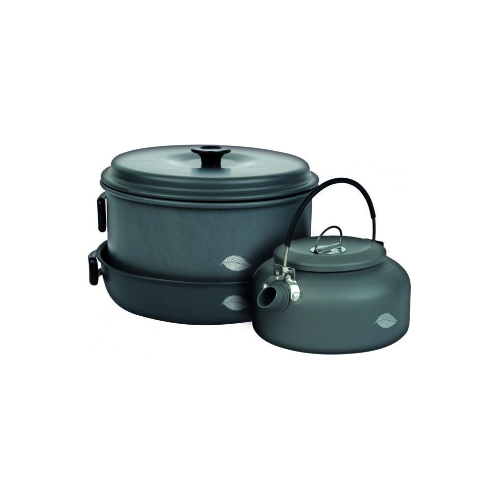 Wychwood 6 Piece Pan Set Grey