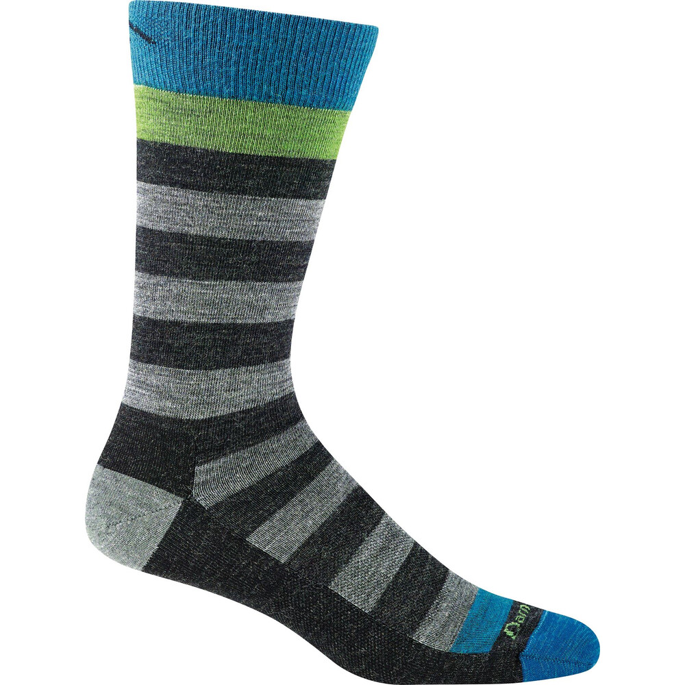 Darn Tough Darn Tough Warlock Crew Light Sock - Charcoal/Grey