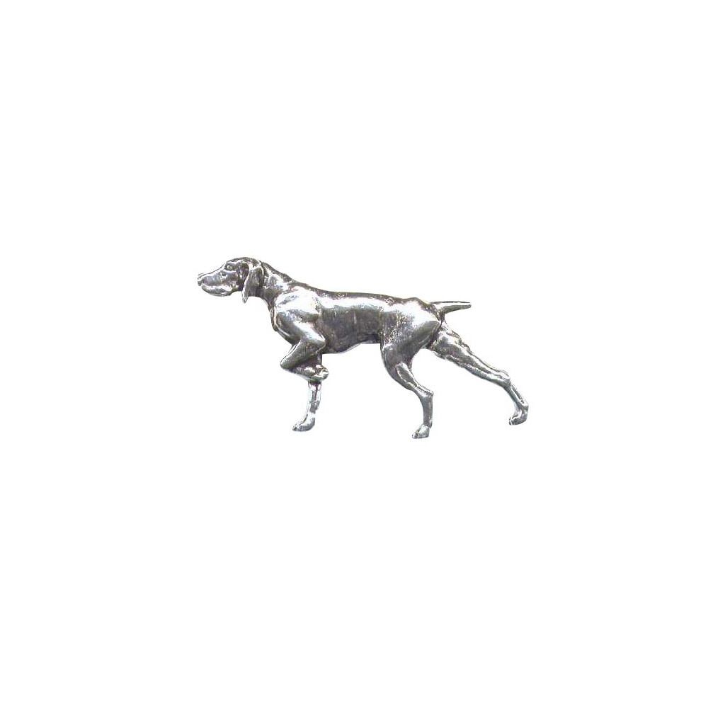John Rothery Pewter Pin Badge - Pointer Unknown