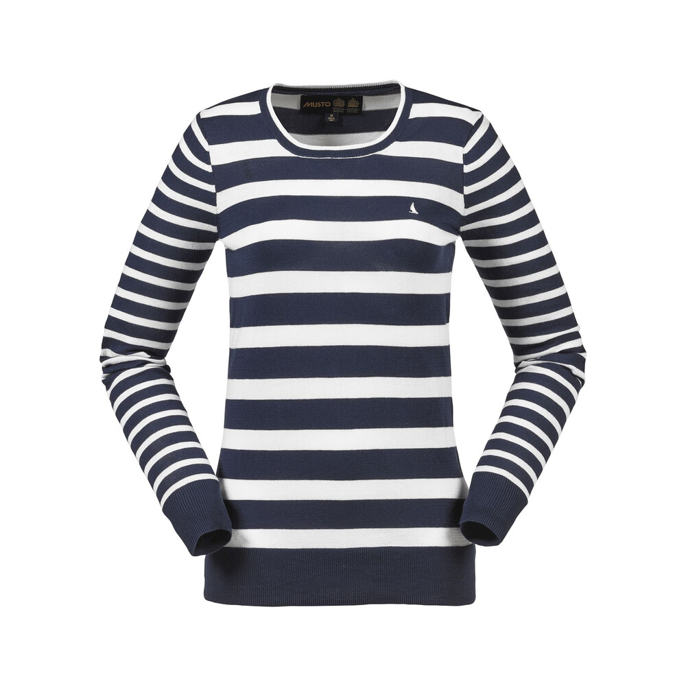 Musto Musto Millie Breton Striped Knit - True Navy