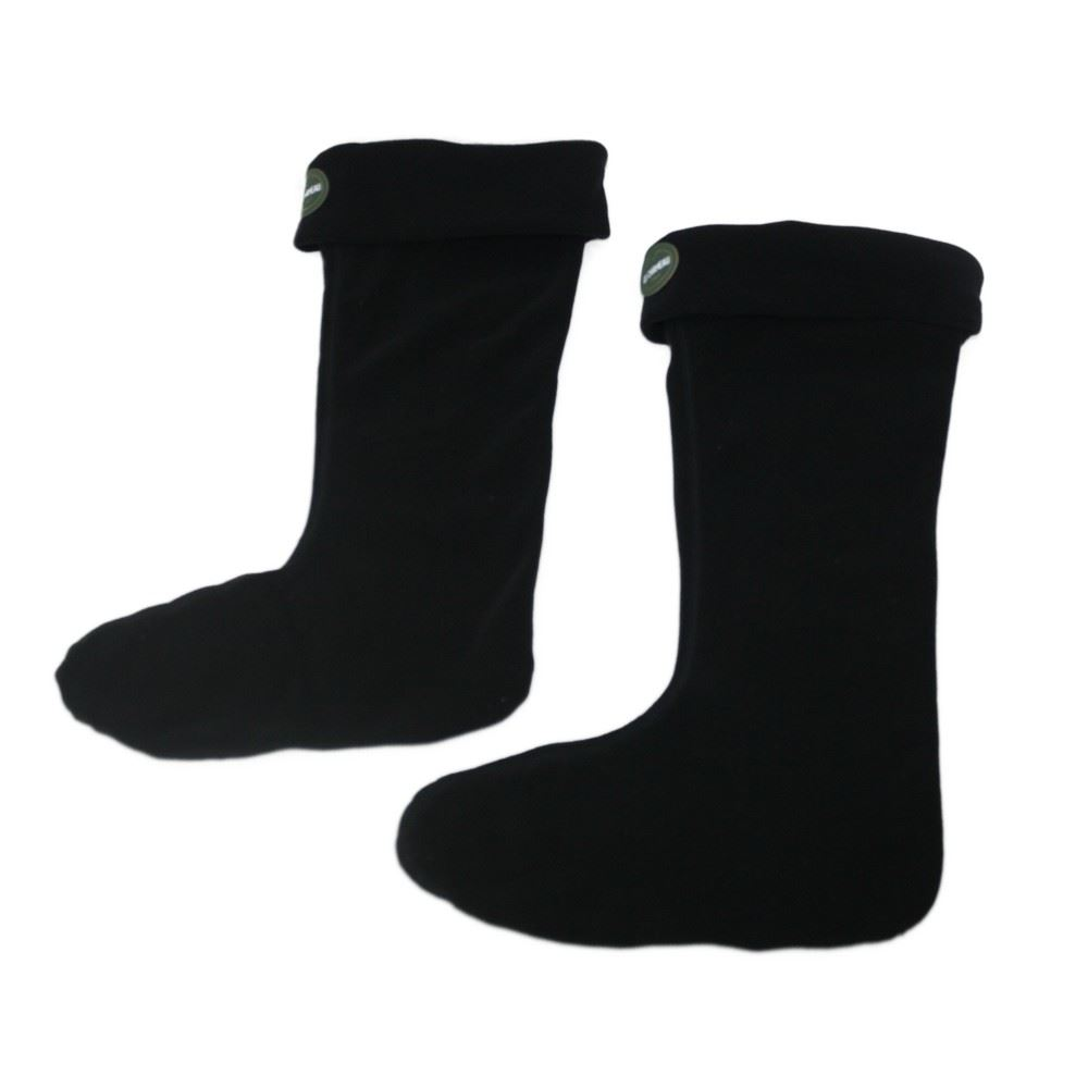 Le Chameau Le Chameau Iris Polaire Fleece Socks in Black TD