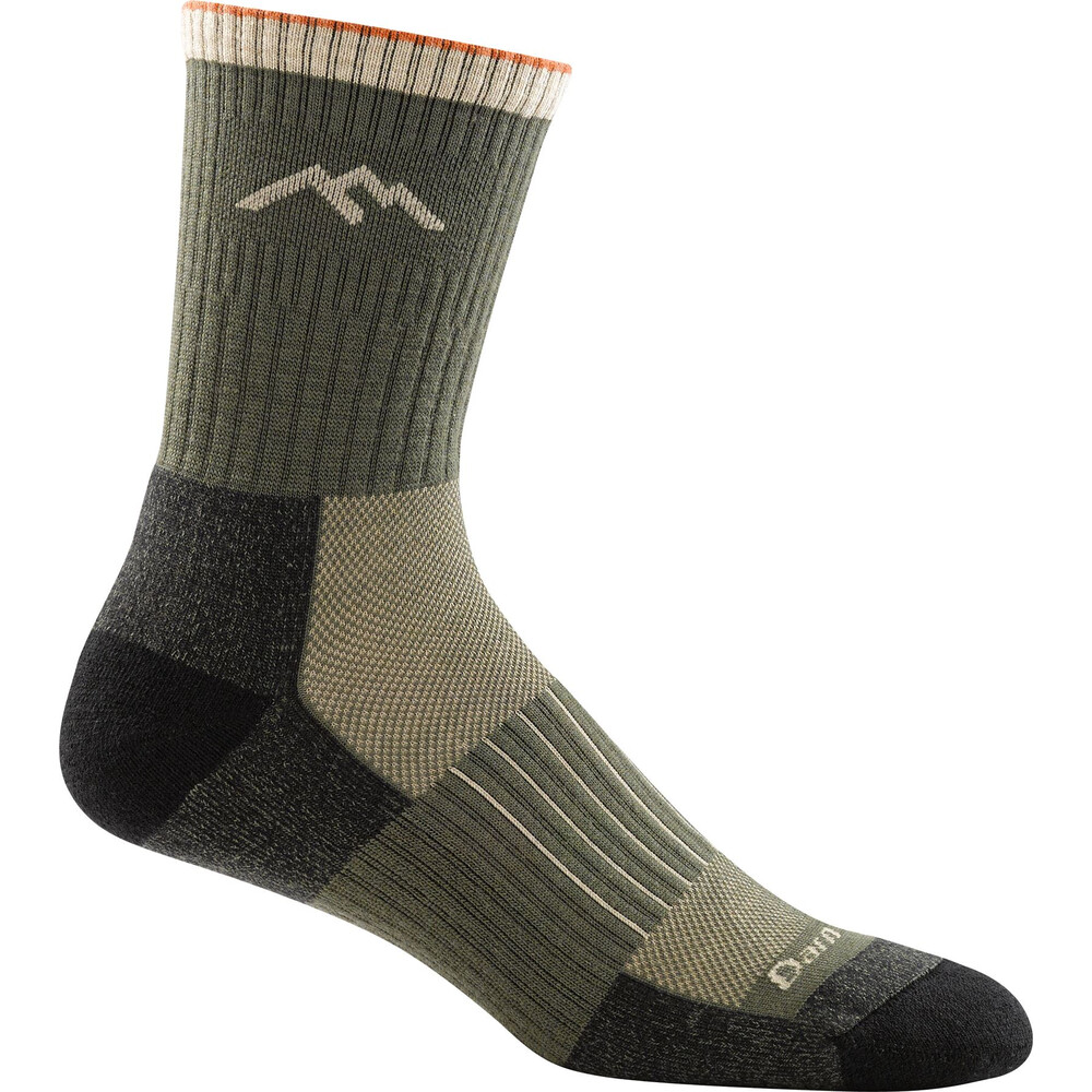 Darn Tough Darn Tough Hunter Micro Crew Cushion Mens Sock - Forest