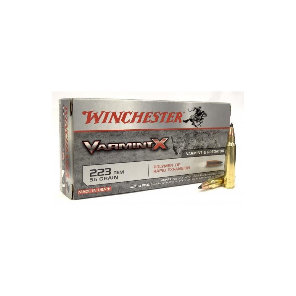 Winchester .223 Ammunition - 55gr - Varmint X