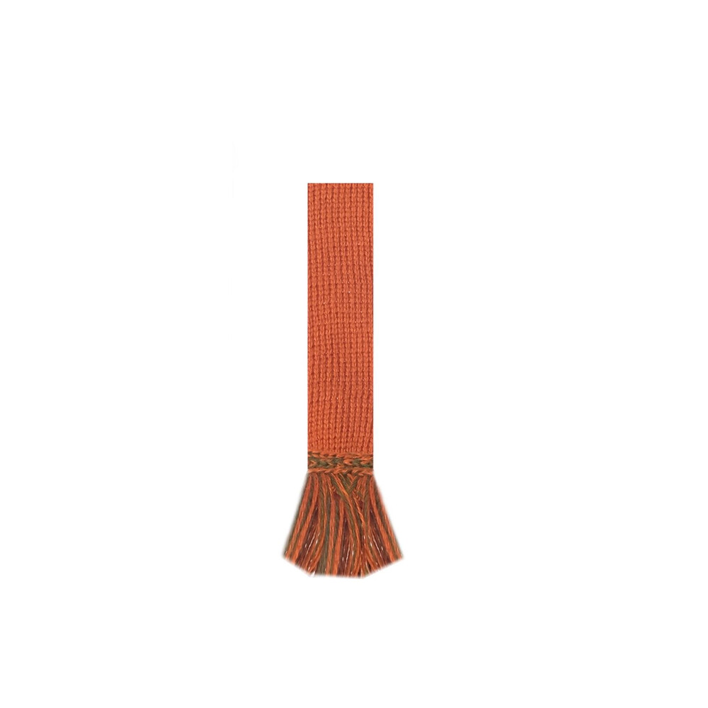 House of Cheviot Rannoch Sock with Garters - Burnt Orange