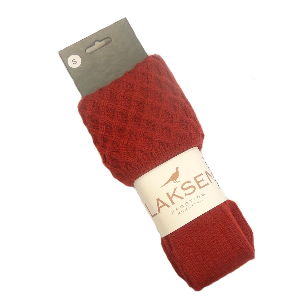 Laksen Lady Windsor Socks -  Grenade Red