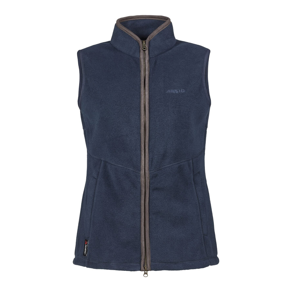 Musto Womens Glemsford Polartec Fleece Gilet True Navy