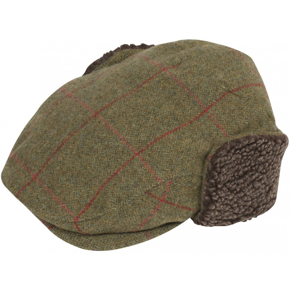Alan Paine Alan Paine Combrook Cap with Ear Warmer - Sage - 3XL