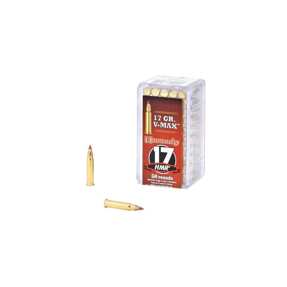 Hornady .17HMR Ammunition - 17gr V-MAX x50