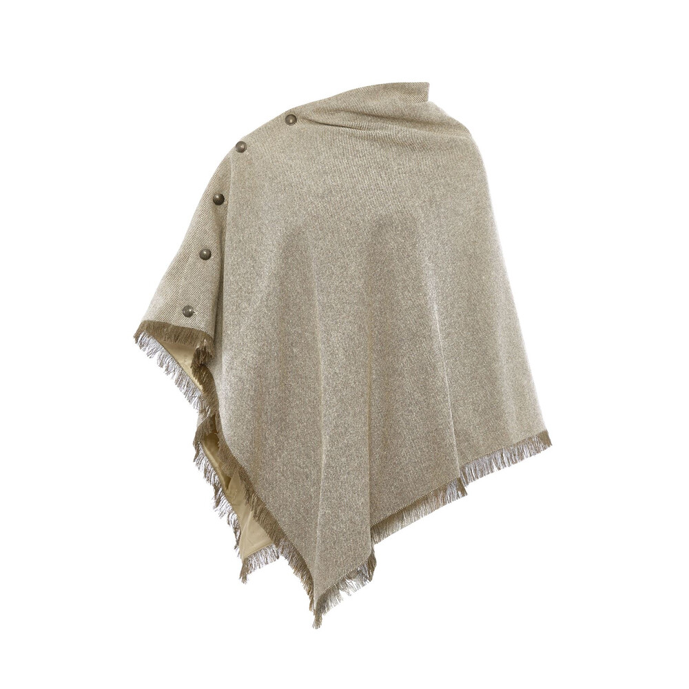 Dubarry Dubarry Hazelwood Tweed Poncho - Sable - Size 12