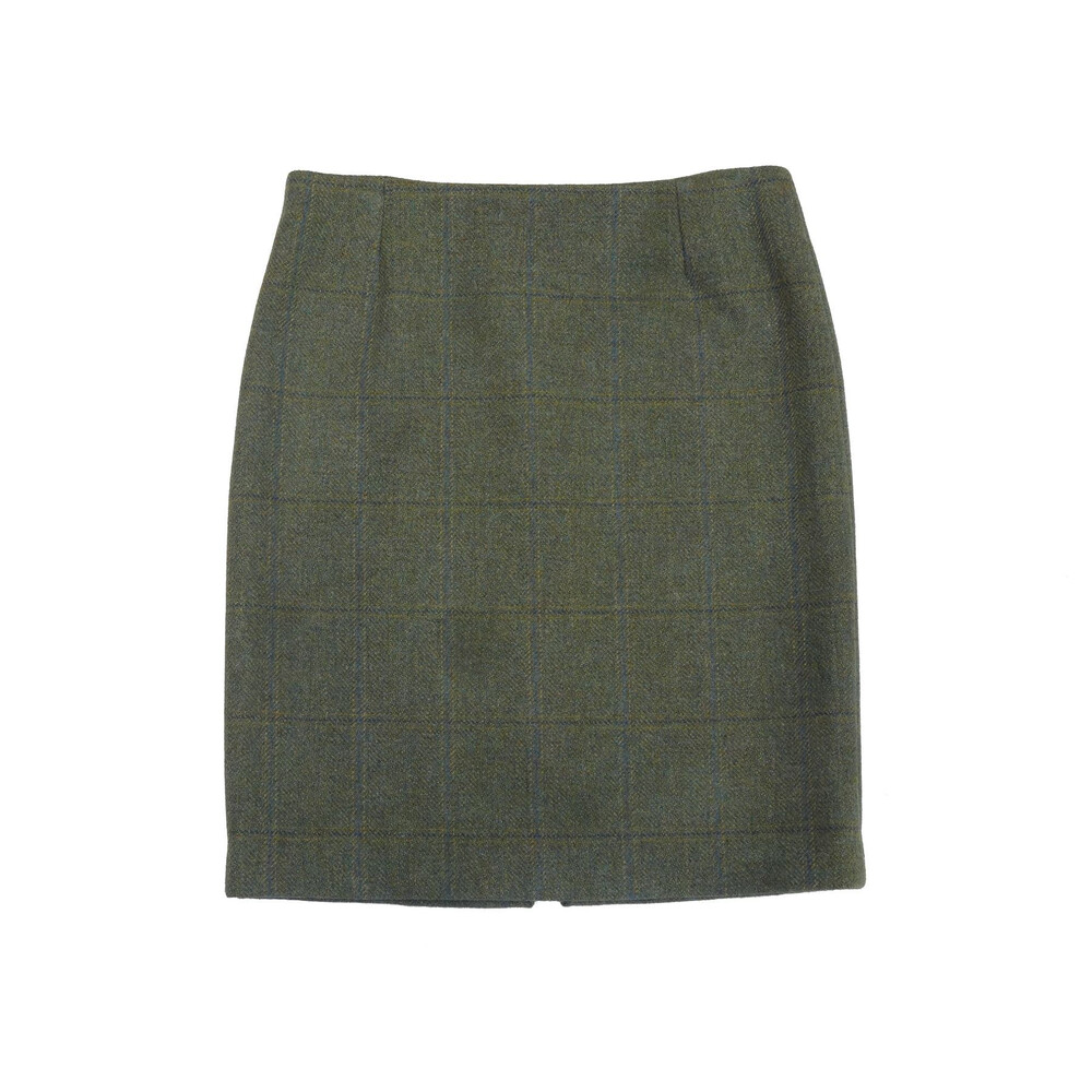 Beaver of Bolton Beaver of Bolton Isabella Tweed Skirt - Blue/Green Tweed