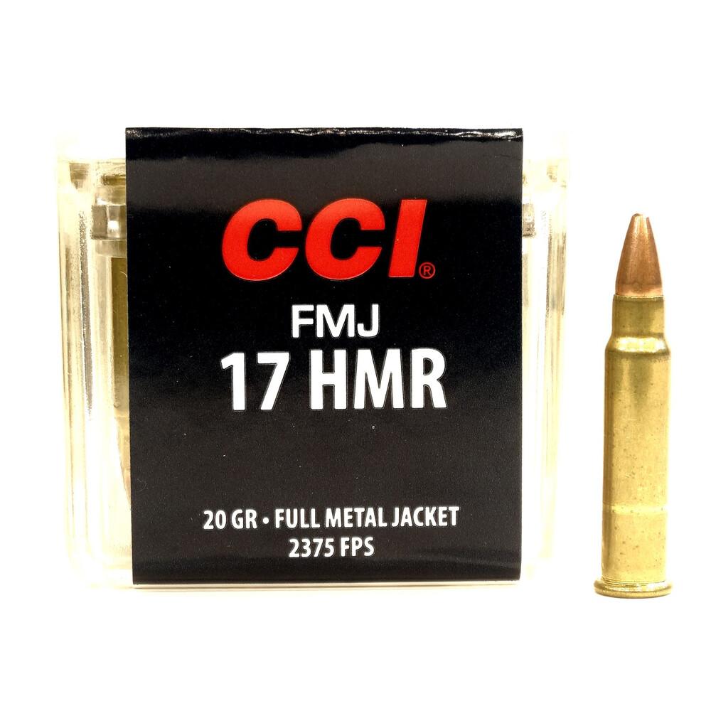 CCI .17HMR Ammunition - 20gr - FMJ Unknown
