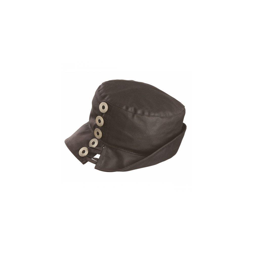 Olney Olney Lynda Wax & Buttons Hat - Olive
