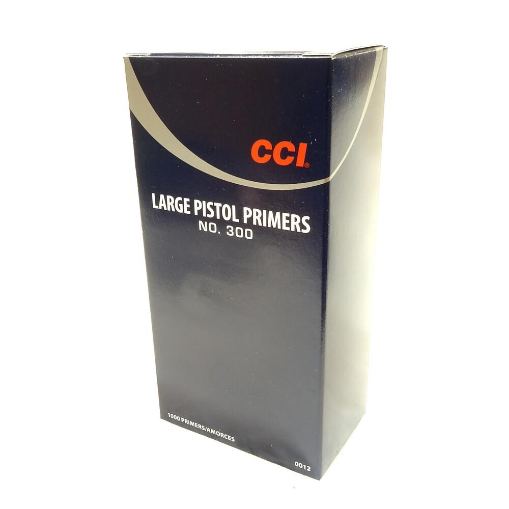 CCI Primers - #300 Standard Large Pistol - Pack of 1000
