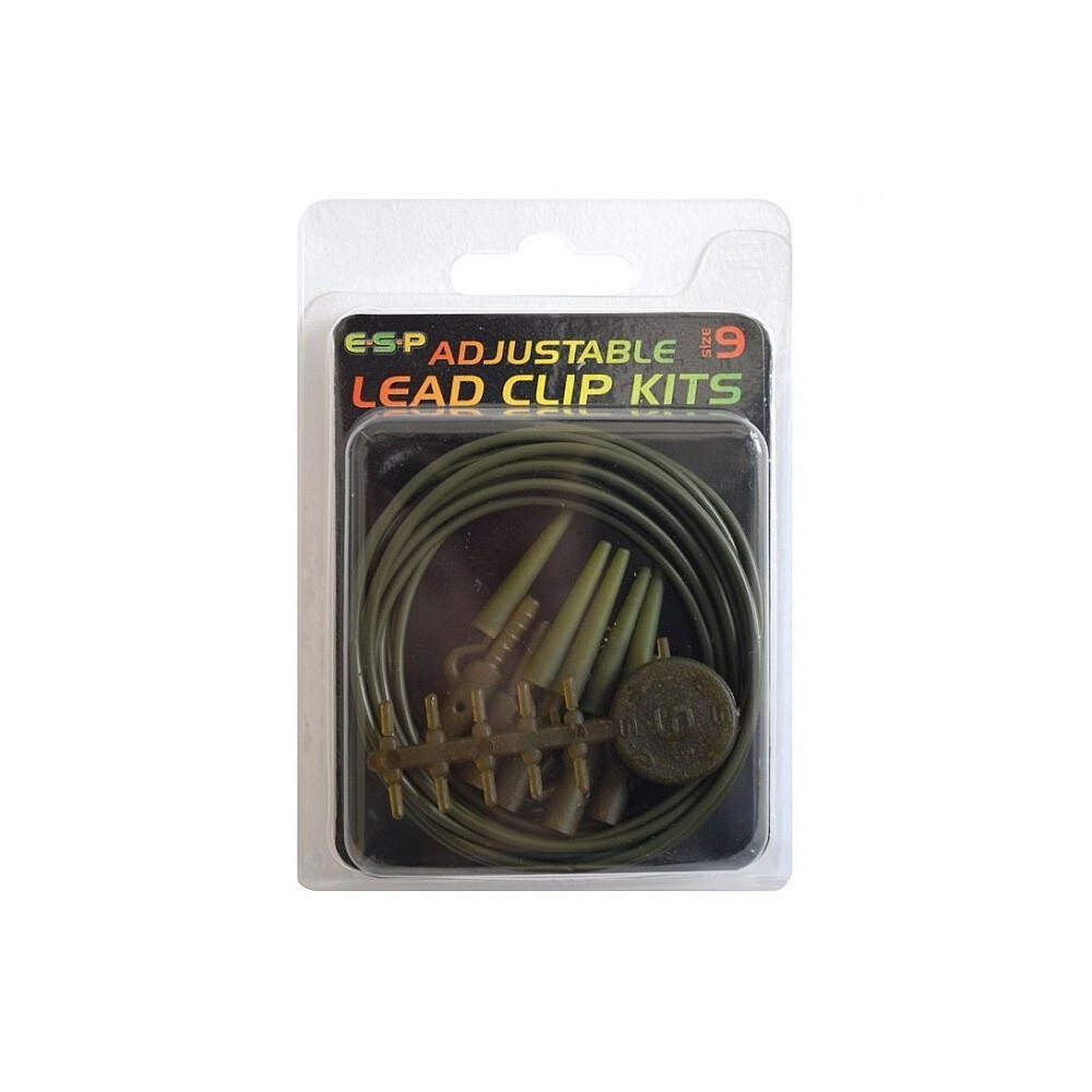 ESP Adjustable Lead Clip Kit - Green