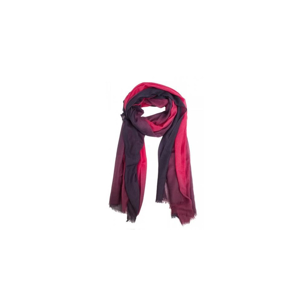Murray Hogarth Hogarth Cashmere/Silk Scarf - Navy/Damson