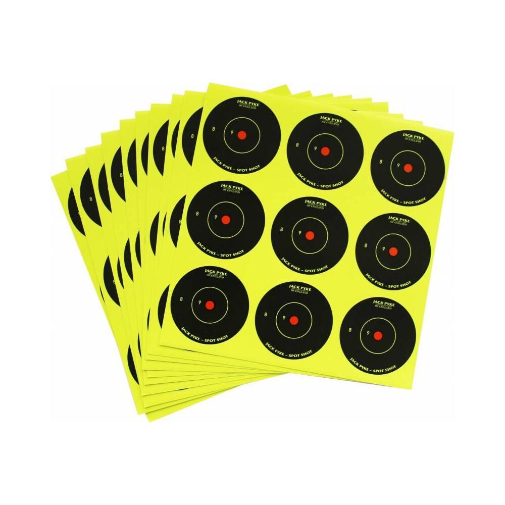 "Jack Pyke Spot Shot Targets - Mixed 2"" & 6"""