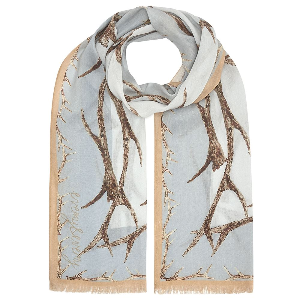 Evemy & Evemy Antler Scarf - Rectangle - Antlers