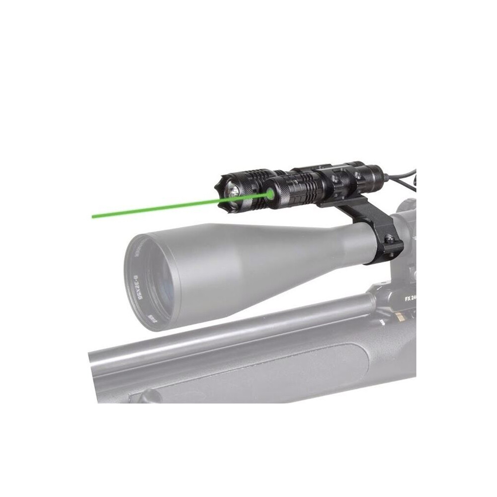 Hawke Tactical Laser & Torch Combo Kit - Green