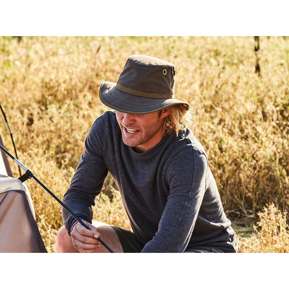 Tilley TWC7 Outback Hat - /British Tan - Size 7 Olive