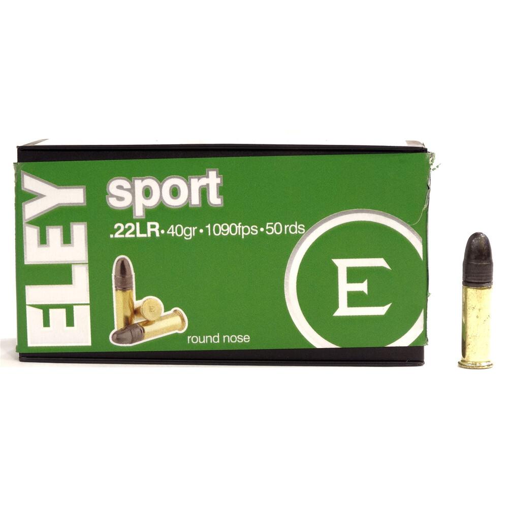 Eley .22LR Ammunition - Sport - 40gr Unknown