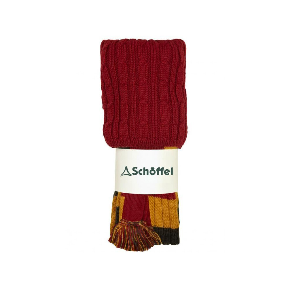Schoffel Schoffel Rugby Striped Sock - Brick - Large