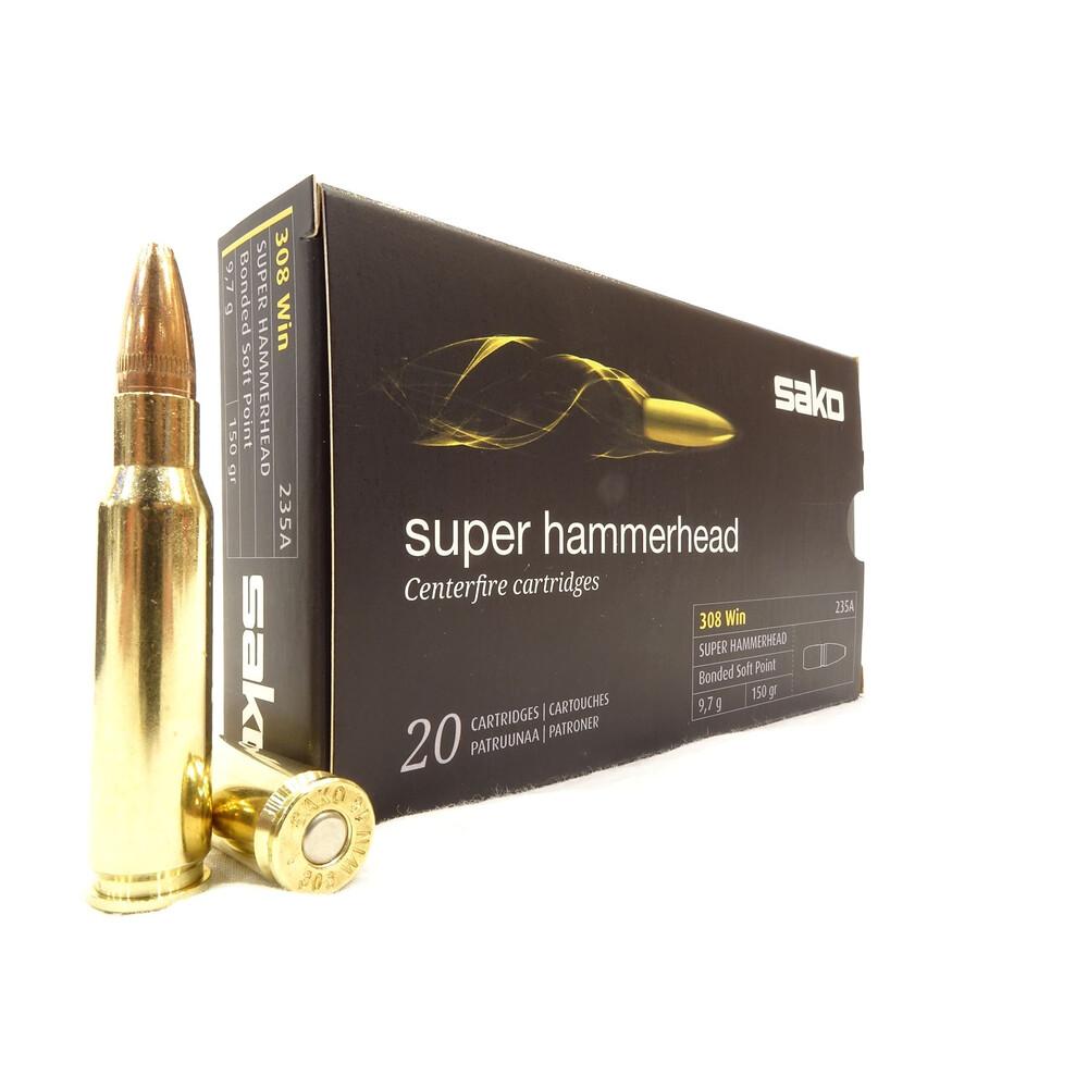 Sako .308 Ammunition - 150gr - Super Hammerhead