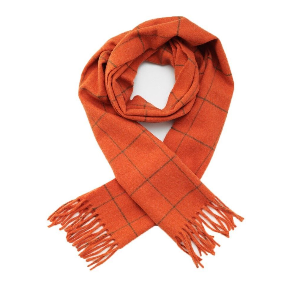 Laksen Woodland Scarf Orange/Green