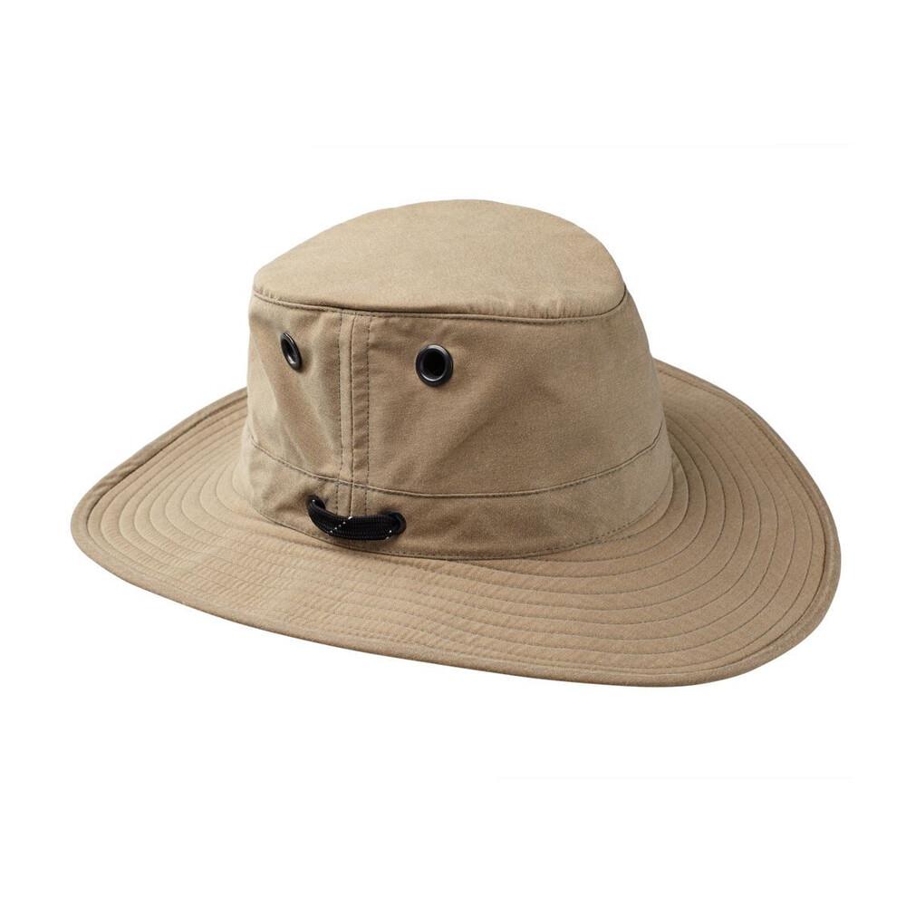 Tilley Tilley LWC55 Lightweight Waxed Cotton Hat - Tan