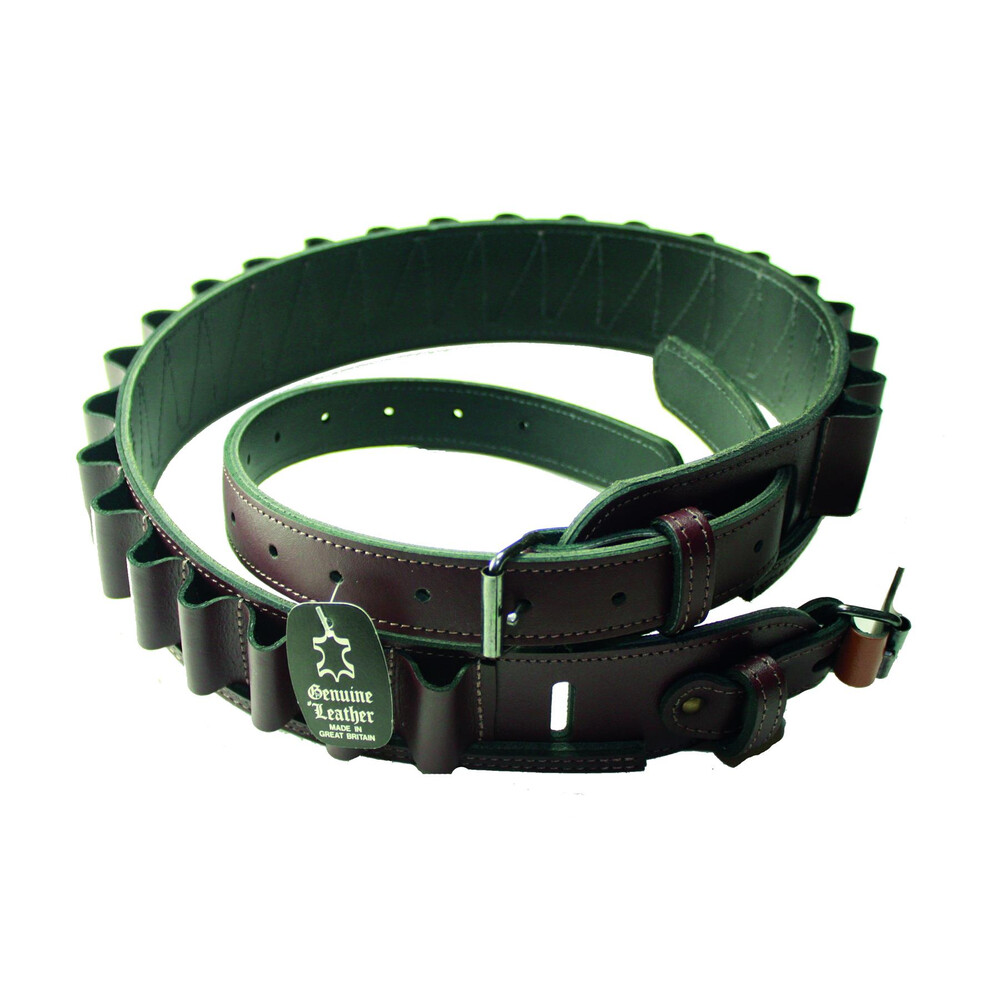 Guardian Leather Cartridge Belt - Leather Open Loop Unknown