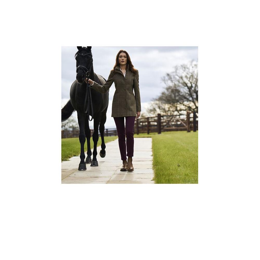 Musto Winchester Ladies Tweed Jacket - Red Glamis Green