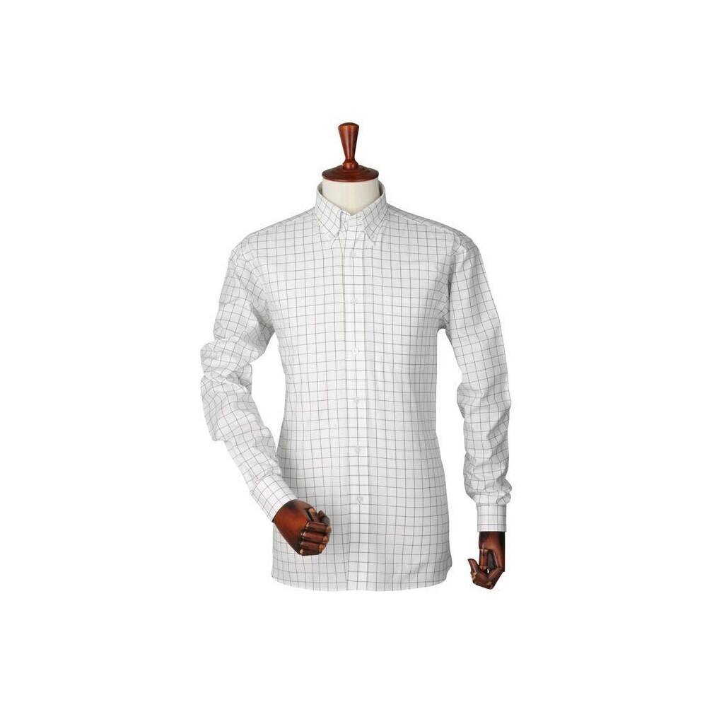 Laksen Laksen Joseph Oxford Shirt - Camel