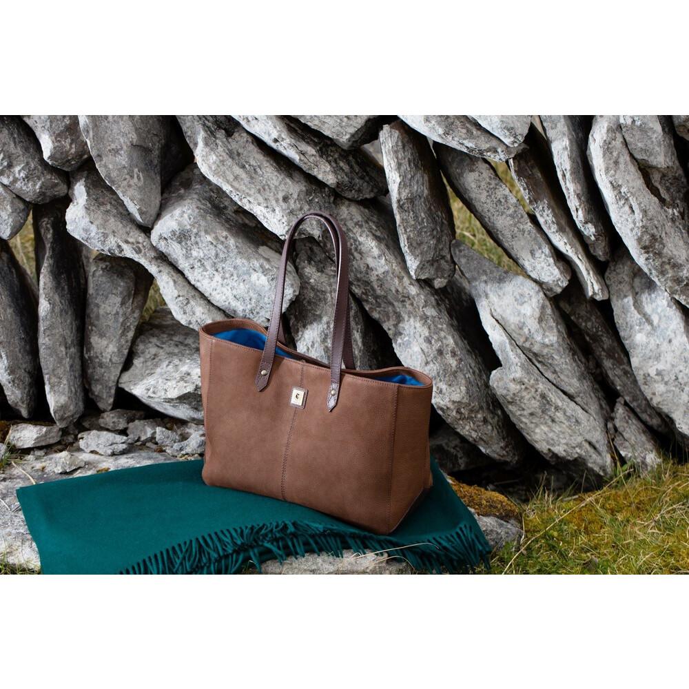 Dubarry Baltinglass Tote Bag - Walnut Walnut