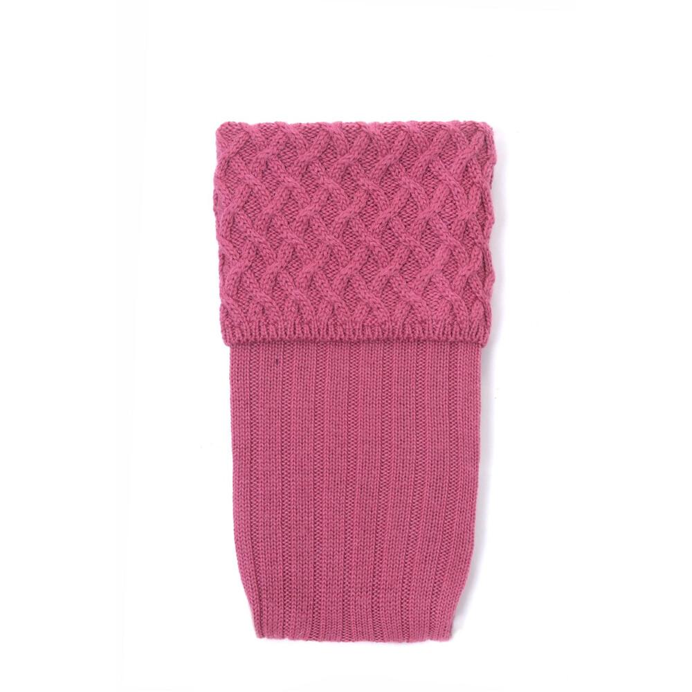 House of Cheviot Lady Rannoch Sock - Dusky Pink Dusky Pink