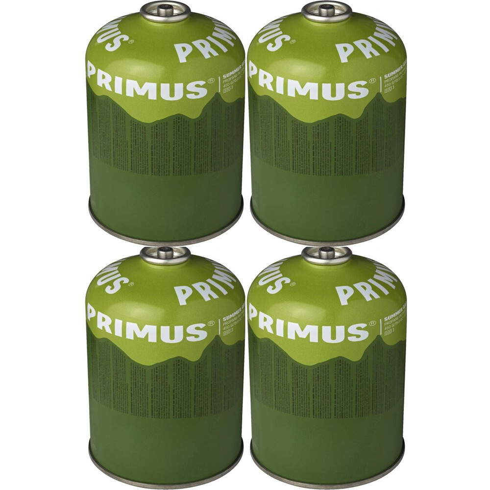 Primus Summer Gas - 450g - Pack of 4