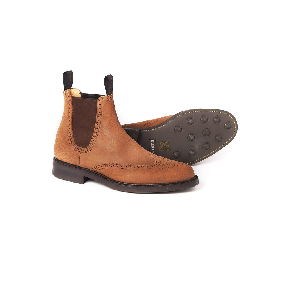 Dubarry Fermanagh Brogue Chelsea Boot - Brown Brown