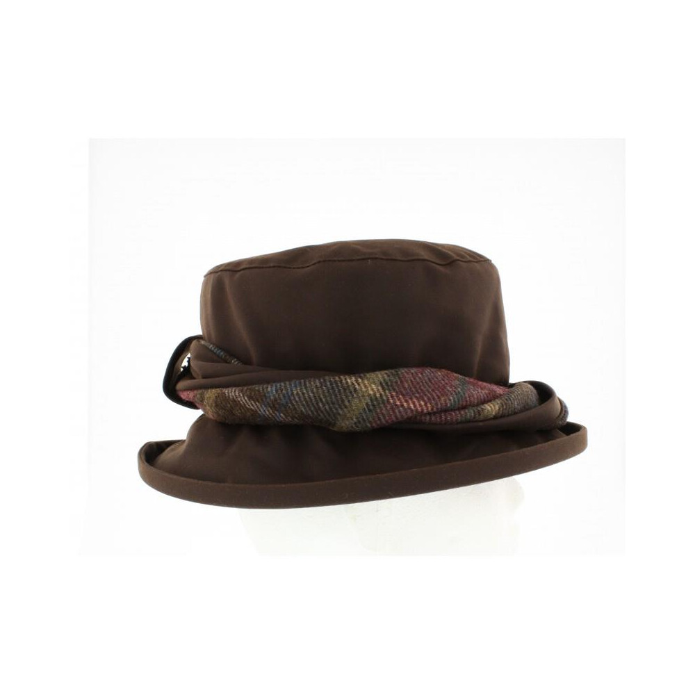 Olney Olney Emma Wax & Twist Hat - Brown