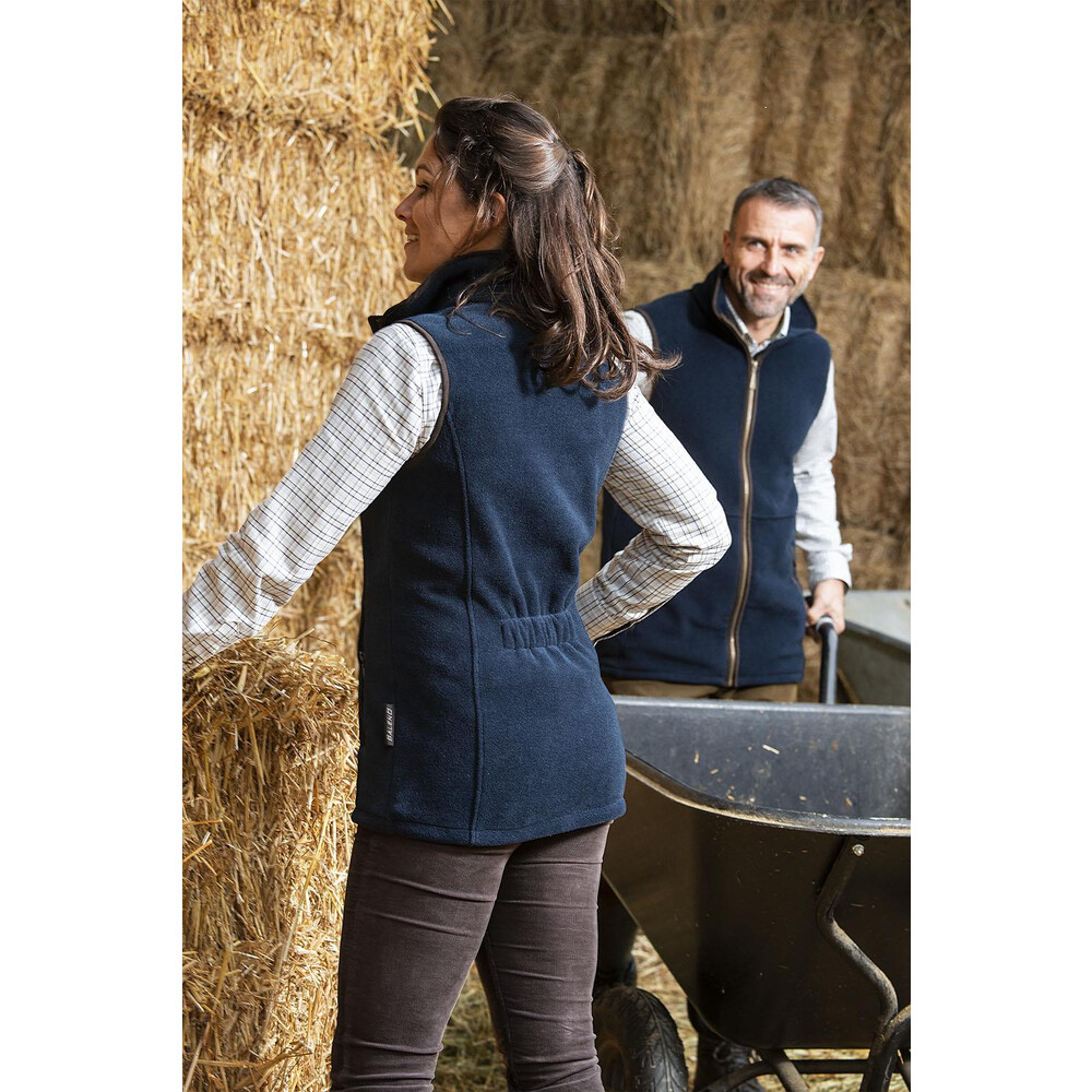 Baleno Fairway Ladies Fleece Gilet Navy