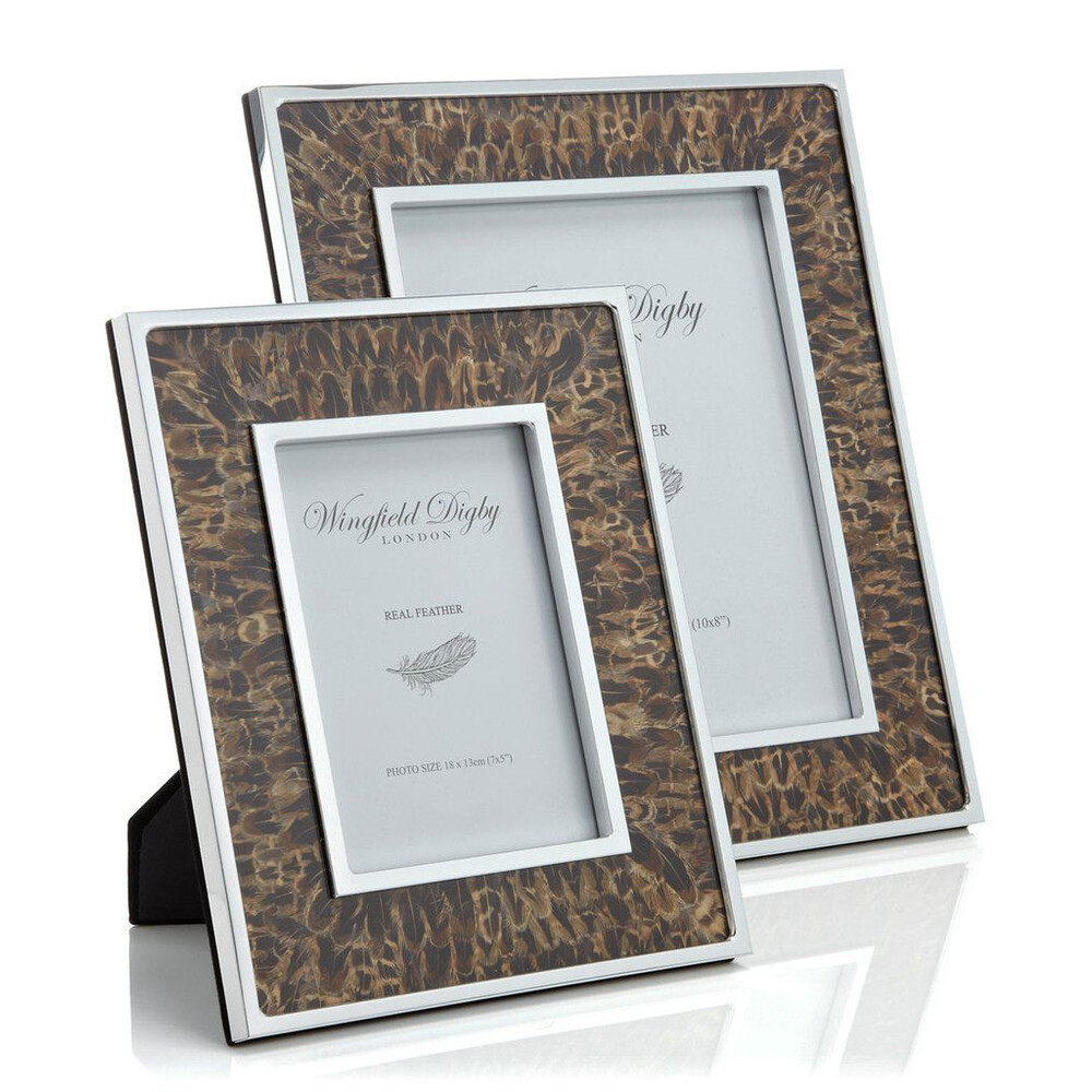 Wingfield Digby Wingfield Digby Photo Frame - Hen Pheasant Feather - 8 x 10""