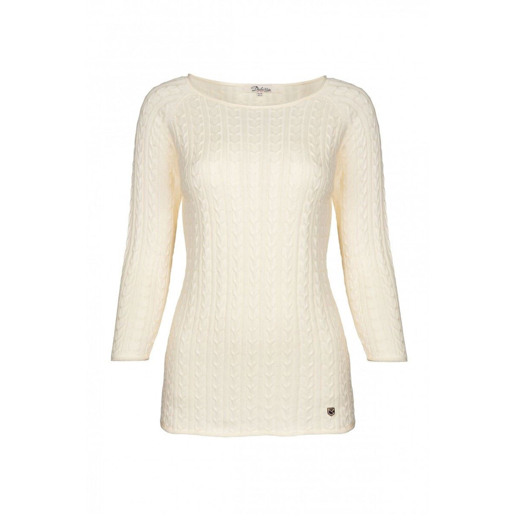 Dubarry Caltra Sweater - Sail White Sail White