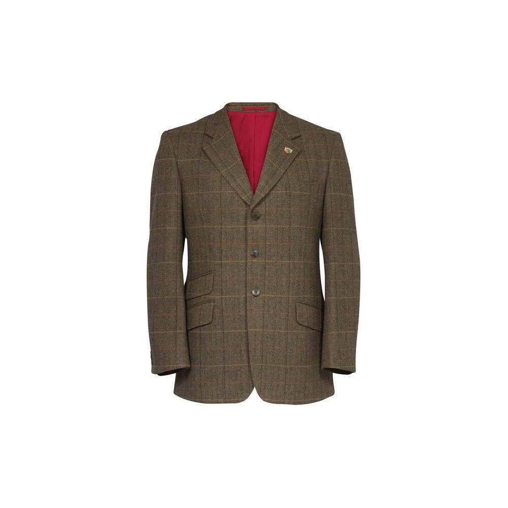 Alan Paine Alan Paine Combrook Tweed Blazer - Peat Tweed