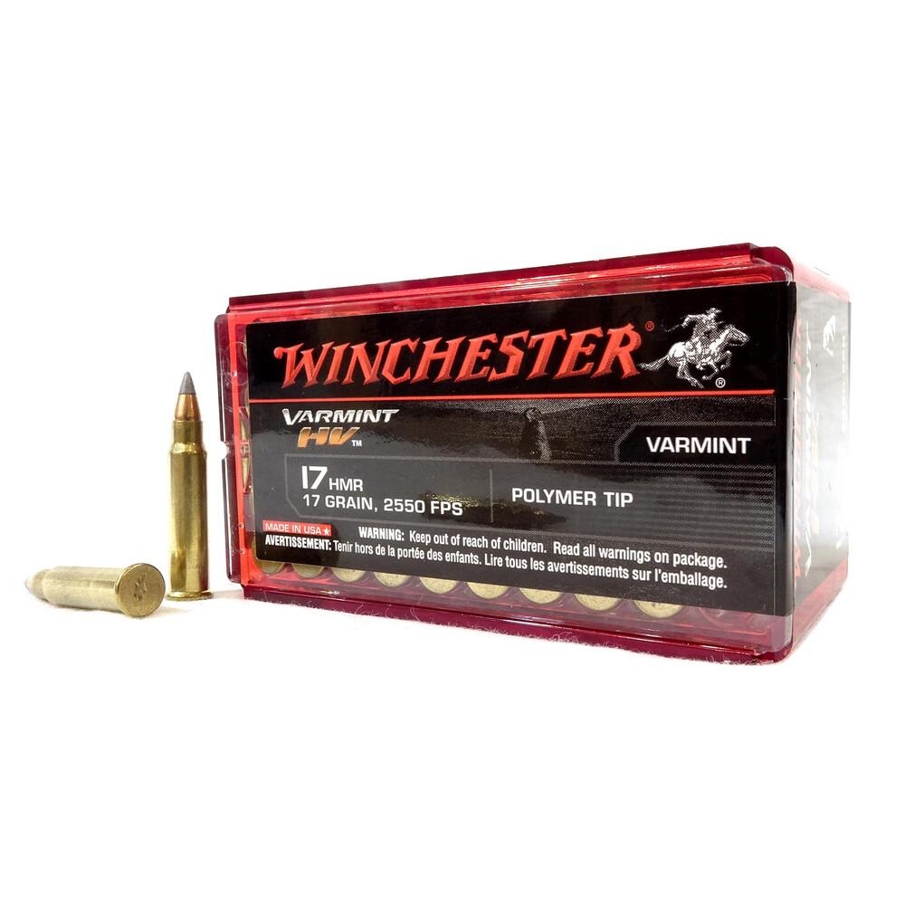 Winchester .17HMR Ammunition - 17gr Varmint HV x50 Unknown