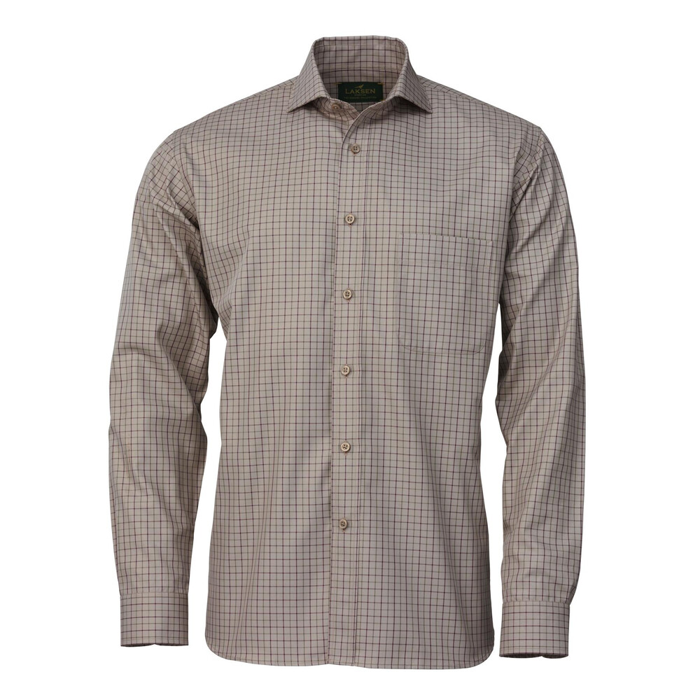 Laksen Grouse Collection Shirt - Heather/Moss Heather/Moss
